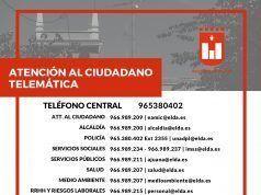 Atención al ciudadano - Elda - Telemática