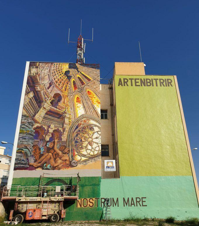 Mural ArtenBitrir 2020   Noticias Petrer