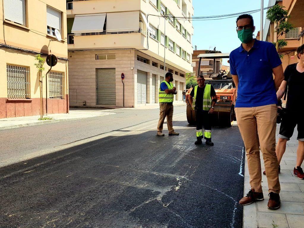 remodelación de la calle Maximiliano García