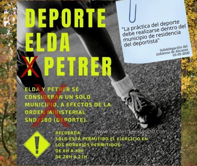 Elda y Petrer no son conurbación para el deporte