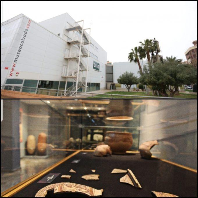 Museo Arqueológico y el Museo del Calzado de Elda