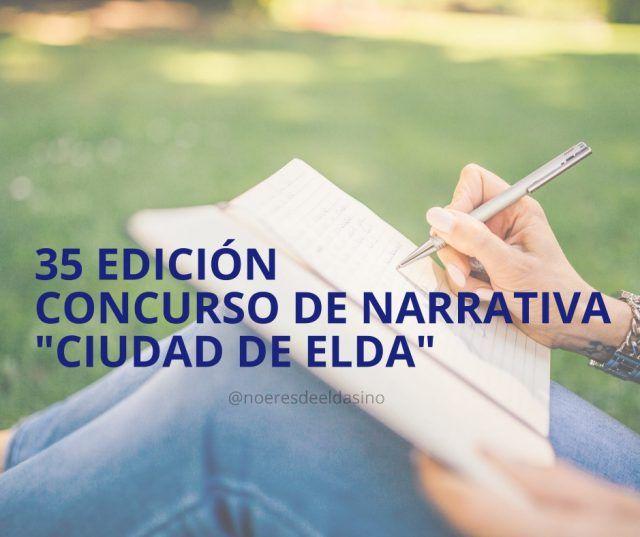 Concurso de Narrativa 'Ciudad de Elda'