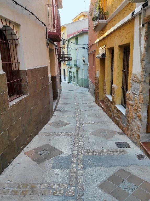 Calle San Rafael de Petrer - Foto: Pascual Maestre