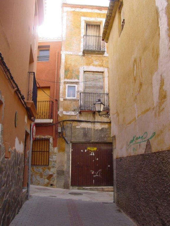 Calle San Rafael de Petrer