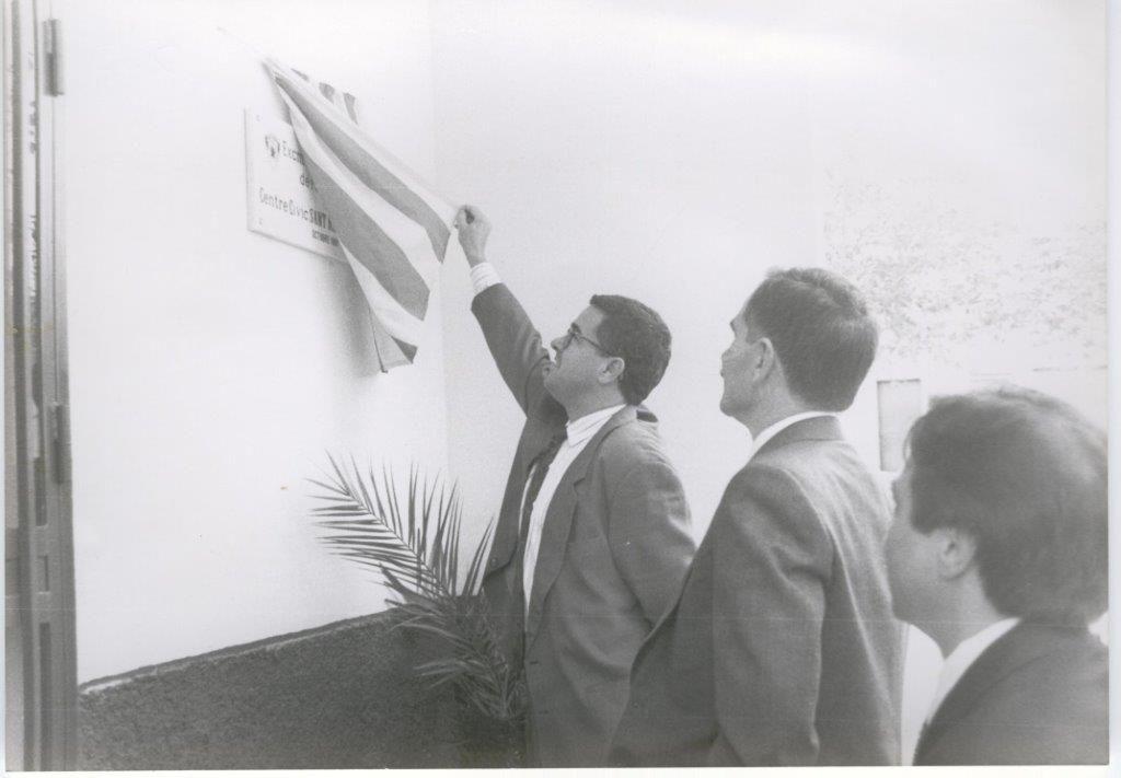 Inauguración Asoc. Vecinos San Rafael