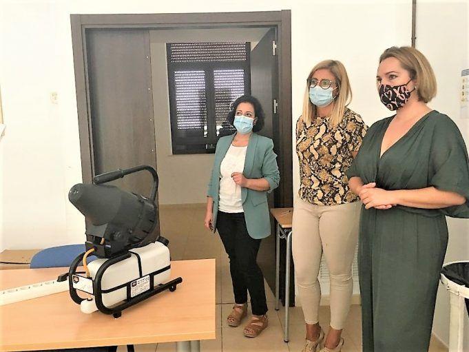 Petrer desinfectará por nebulización los colegios y espacios públicos para frenar al coronavirus