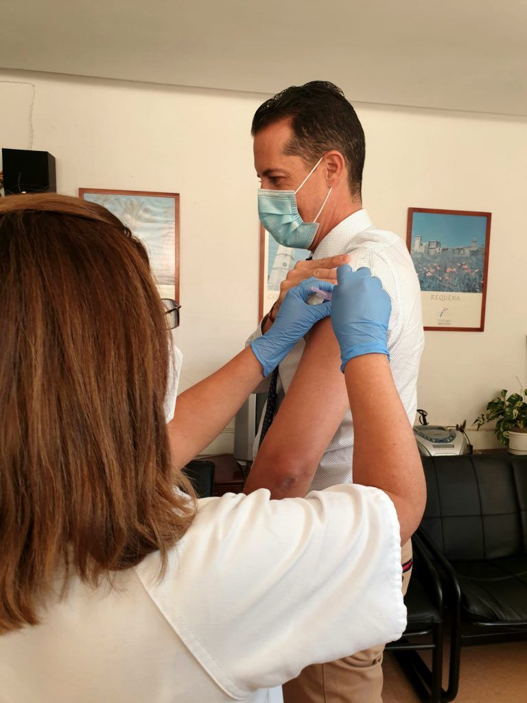 Vacunación gripe 2020 - Rubén Alfaro
