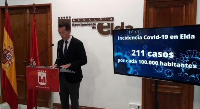 El Ayuntamiento de Elda decreta cinco medidas para contener la propagación del coronavirus en la ciudad