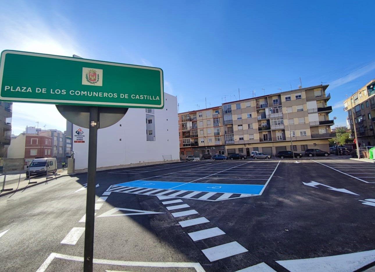 Aparcamiento municipal Elda - Calle la Cruz