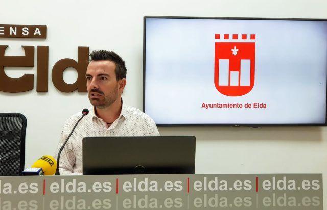 Fernando Gómez, concejal de deportes Elda