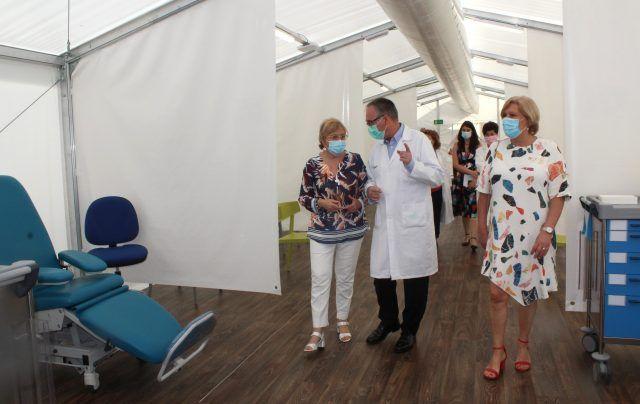 Hospital de campaña de Alicante - Archivo - Gva.es