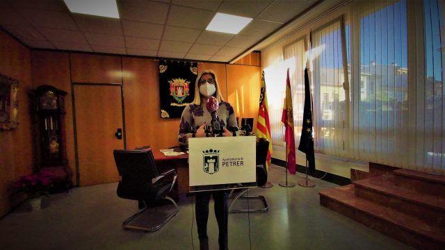"""La alcaldesa de Petrer, Irene Navarro, ha hecho un nuevo llamamiento a la """"responsabilidad individual"""""""