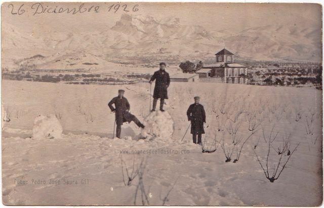 Nevada en Elda 26 diciembre de 1926