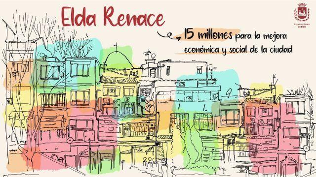 El Ayuntamiento pone en marcha 'Elda Renace