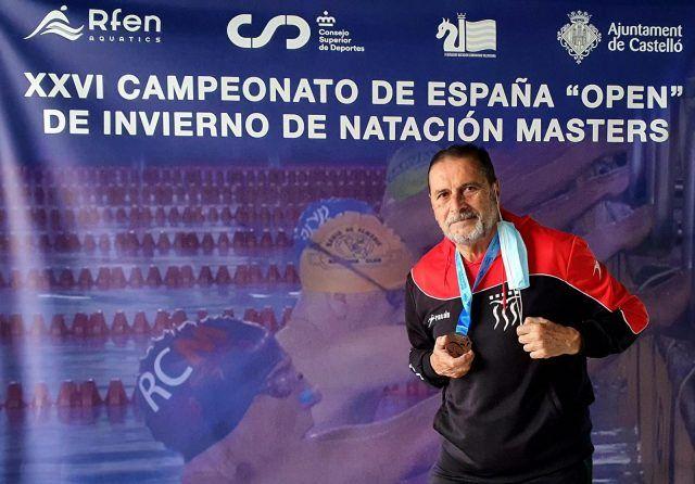 El nadador eldense JUAN MAESTRE COLLADO