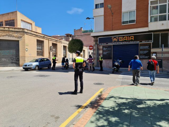 La Policía Local de Petrer intensifica el control sobre las motocicletas