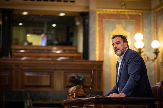 El diputado de Ciudadanos (Cs) por Alicante en el Congreso de los Diputados, Juan Ignacio López-Bas
