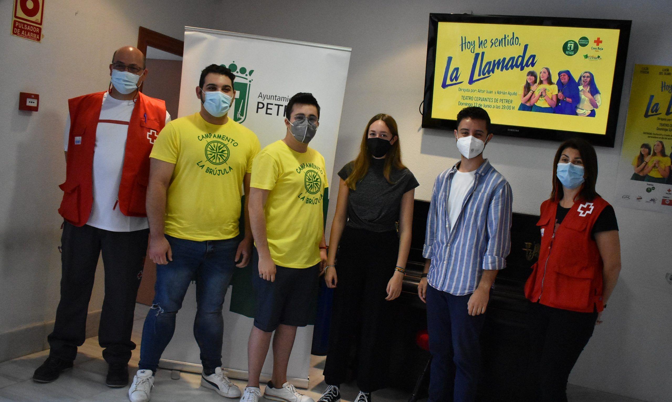 """""""La Llamada"""" del grupo de teatro amateur Teatrando"""