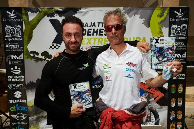 Subida al podium Baja Dehesa Extremadura