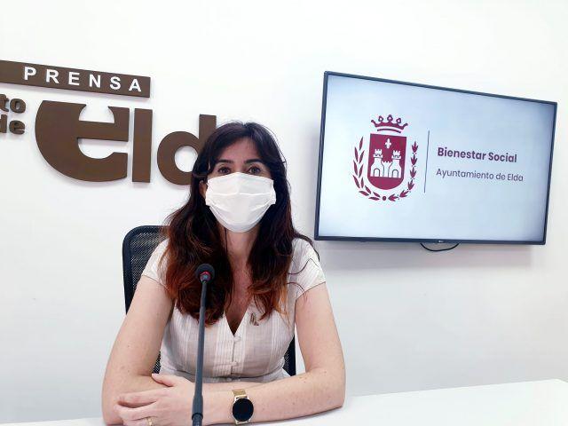 Alba García, concejala de Bienestar Social Elda