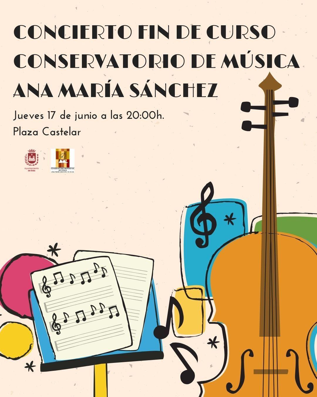 Concierto de música del alumnado del Conservatorio Profesional de Música 'Ana María Sánchez'
