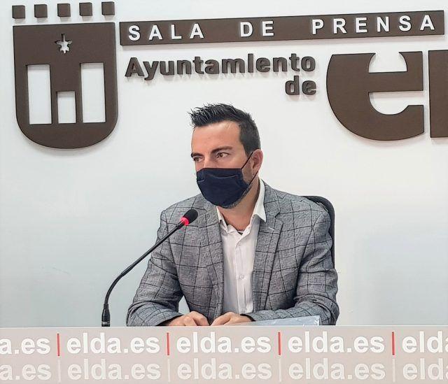 El concejal de Deportes, Fernando Gómez,