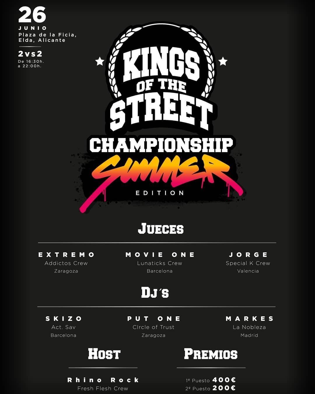 Elda acoge la IX edición del campeonato nacional de breakdance 'Kings of the Street'