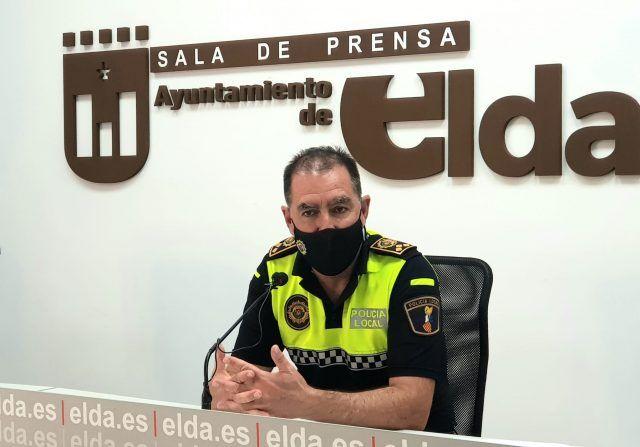 El Comisario Principal de Elda, Francisco Cazorla