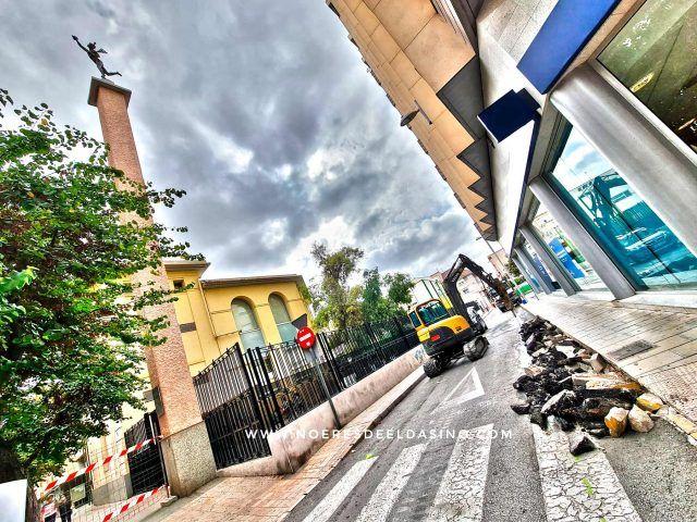 Remodelación y asfaltado de la calle Miguel de Cervantes para mejorar los accesos al Colegio Público Padre Manjón