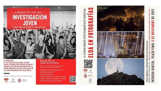 Concursos 'Investigación Joven' y 'Elda en Fotografías'